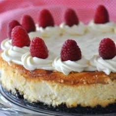 White Chocolate Raspberry Cheesecake - Allrecipes.com