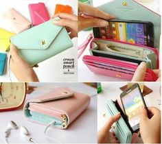Crown Smart Pouch Multi Propose Envelope Purse Wallet for Galaxy S2 S3 iPhone | eBay