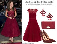 Love this color and dress!  Duchess is stunning!