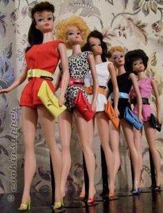 Vintage Girl Names Barbie Dolls Best Ideas Vintage Barbie Dolls, Mattel Barbie, Barbie And Ken, Vintage Girls, Vintage Toys, Barbie Wardrobe, Barbie World, Barbie Life, Barbie Dream