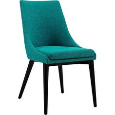 Victoria Fabric Dining Chair Teal