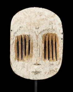A Mbole-Yela mask height 11 1/2in Democratic Republic of Congo