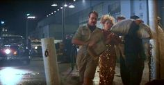 Indiana Jones And The Temple Of Doom (1984) The Cameo: The airport scene at the end of the film's Shanghai sequence is a proper jolly boys' outing, featuring Steven Spielberg and George Lucas as extras, plus Dan Aykroyd as the guy who books Indy onto the worst possible flight out of town.