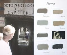 Carte Colori Kleurenkaart `Pietra` http://www.paint-and-decorations.nl/Webwinkel-Category-5507569/Carte-Colori-Kalkverf.html