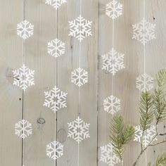 Check out Feeling Quirky Gifts: Snowflake Shaped ... Click here! http://www.feelingquirky.co.uk/products/snowflake-shaped-garland?utm_campaign=social_autopilot&utm_source=pin&utm_medium=pin