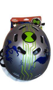 Ben 10 MS VP Ultimate Aliennwt Childs Bell Multi Sport Helmet with Bell Silver   41.95