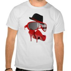 Cool fashion ladies classic hat red bright glasses and shoes.