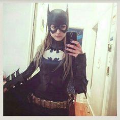 Batgirl Cowl, cape and belt Batgirl Cowl, cape and belt. Other