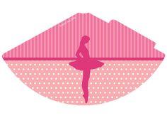 Bailarina kit festa grátis para imprimir – Inspire sua Festa ®