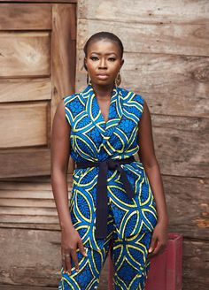 The Oma Ankara Jacket is a show stopper any given day. Trust us! The Jacket features a semi- loose fit and a belt to snatch the waist like. It is highly comfortable and classy. Trousers are sold separately. #wakanda Dashiki, African print dress, African fashion, African women dresses, African prints, Nigerian style.