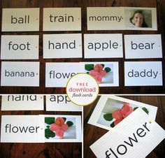 just like the My Baby Can Read series, only WAYYYYYY cheaper to do it yourself :) I'll be making these for Delmus <3