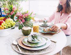 Bom dia Segundona  Eu amo um bom café da manhã e com as peças da @casaaguadecoco que eu morro de amores mesmo!  #breakfasttime #sweethome #boasemana