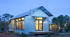 With Lake Flato's partially prefabricated Porch House, traditional vernacular architecture is more about functionality, less about decoration.