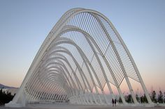 Athens Olympic Sports Complex built by Santiago Calatrava.