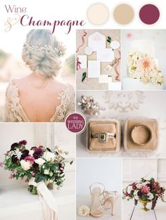 Wine and Champagne Pairing for a Chic Wedding Palette (Best Wedding Colors) Romantic Wedding Colors, Romantic Wedding Receptions, Romantic Weddings, Chic Wedding, Fall Wedding, Dream Wedding, Wedding Ideas, Wedding Inspiration, Wedding Colours