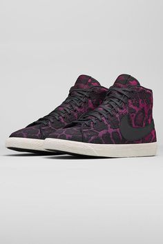Sneaker of the Week // the Nike Blazer Mid Jacquard. Designed with a bold print to add style to the season.