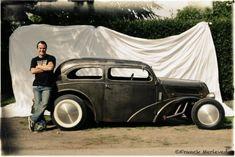 Portrait Hot Rod Hayride - Russ Ford Pop