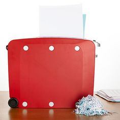 Shred old documents you no longer need with the Black & Decker Studio Shredder ($48). This stylish, lightweight device is ideal for small spaces and rolls easily to where you need it.