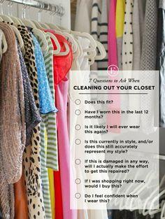 Limpieza de armario