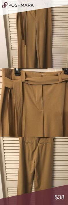 Today's Sale! Fabulous Trina Turk Dress Pants AMAZING soft and comfy pleated dress pants with tie belt A bit high waisted for a smooth look Sexy and sophisticated Trina Turk Pants Trousers