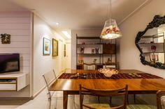 Apartamento eclético Projeto - Enzo Sobocinski Arquitetura