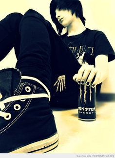 Emo guy:3 Oliver opfermann - Heart Our Style - awesome boy emo model monster scene