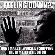 Little gym bitch meme #don't skip the gym