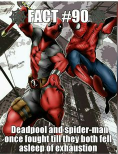 Spiderman How did Spidey live long enough to do that cuz Deadpool cant die but Spidey can Deadpool Facts, Deadpool Und Spiderman, All Spiderman, Amazing Spiderman, Marvel Comic Universe, Comics Universe, Marvel Vs, Marvel Memes, Spider Man Facts