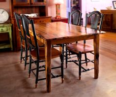 Hawkins Furniture makes one-of-a-kind furniture from reclaimed and local wood.