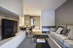 Un piso de 90m2 de estilo moderno y sencillo al que no le…