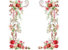 Рамки картинки цветы