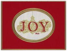Ornamental Joy Tapestry Holiday Cards