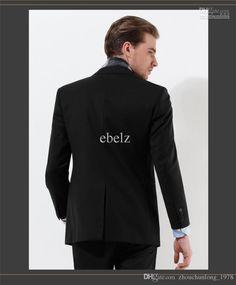 Wholesale cheap men's suits online, gender - Find best 2016 newest men's business casual one button suits(jacket+pants+vest+tie)…