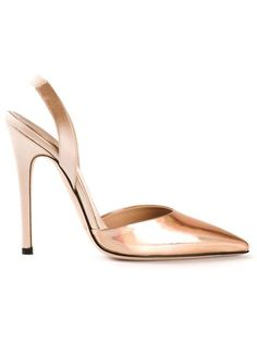 Shop Giambattista Valli iridescent panel pumps in Fivestory from the world's best independent boutiques at farfetch.com. Over 1000 designers from 60 boutiques in one website.