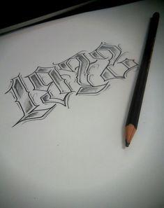1993 – – Tattoo Ideas – # Ideas – Graffiti World Chicano Lettering, Tattoo Lettering Fonts, Hand Lettering Alphabet, Graffiti Alphabet, Lettering Styles, Cholo Tattoo, Chicanas Tattoo, Tattoo Hals, Number Tattoo Fonts