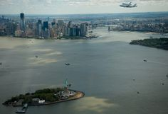 My favorite shot from today!   Shuttle Enterprise Flight to New York (201204270022HQ) by nasa hq photo, via Flickr