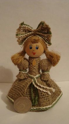 Кукла из мешковины своими руками