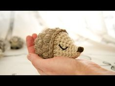 Free Crochet Hedgehog Pattern | Crochet Stitch Witch