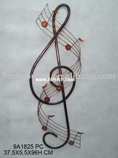 metal musical instrument wall art