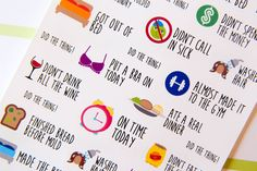 Little Adulting Success Stickers - Z8