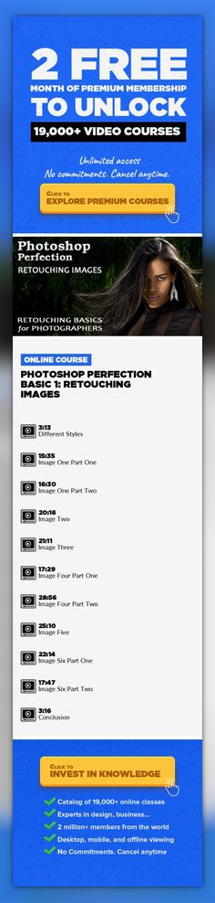Photoshop Perfection Basic 1: Retouching Images Photography, Digital Photography, Adobe Photoshop, Photo Retouching, Creative, Photo Editing, Retouching Images #onlinecourses #onlinelessonshighschools #onlinecoursescareer   Cap Off Your Knowledge with a Retouching Review You've learned about all the right tools and all the right techniques—it's time to challenge yourself with a final review....