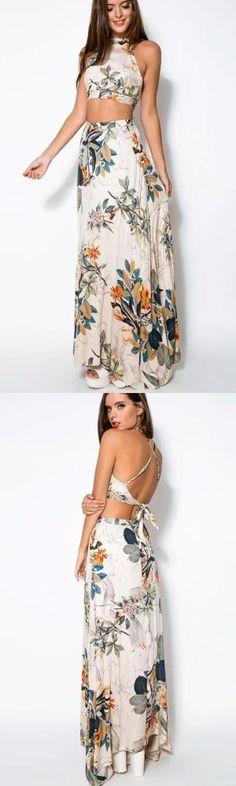 Women's Boho/Backless Elegant Dress