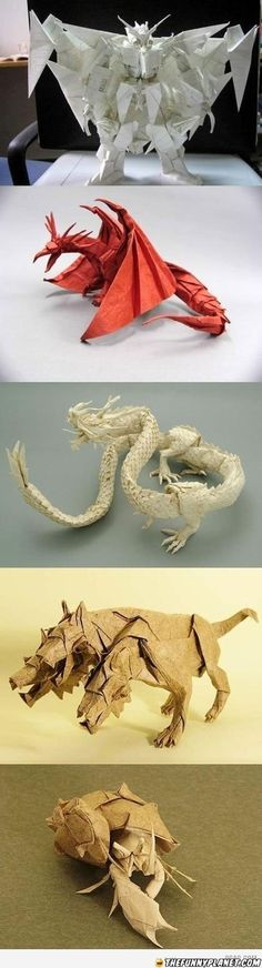 Awesome Origami Without Using Scissors