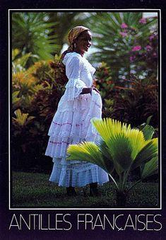 Tenue traditionnelle Martinique, robe creole
