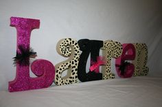 Teen name letters Wooden letters 15.00 per by WoodenWondersShop