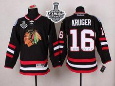 http://www.xjersey.com/blackhawks-16-marcus-kruger-black-2015-stanley-cup-jersey.html BLACKHAWKS 16 MARCUS KRUGER BLACK 2015 STANLEY CUP JERSEY Only 47.31€ , Free Shipping!