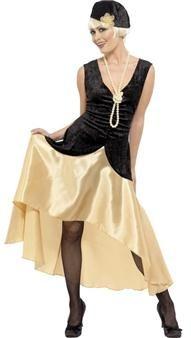 A la recherche d'un déguisement pour une soirée costumée sur le thème des années 20 ? Ce costume est celui qu'il vous faut !