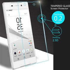 Ultra Thin 0.2mm Premium Explosion-Proof Tempered Glass Screen Protector Film for Sony Xperia Z5 5.2'' Protective Glass Film