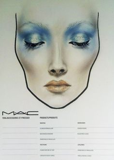 Check this out! Mac Makeup, Beauty Makeup, Drugstore Beauty, Makeup Inspo, Makeup Inspiration, Mac Face Charts, Catwalk Makeup, Professional Makeup Kit, Shadow Face