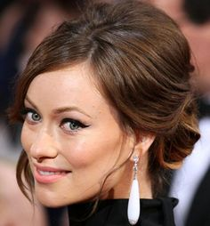 2014 Oscars Best Celebrity Hairstyles and Makeup Looks: Olivia Wilde  #Oscars #hairstyles #hair